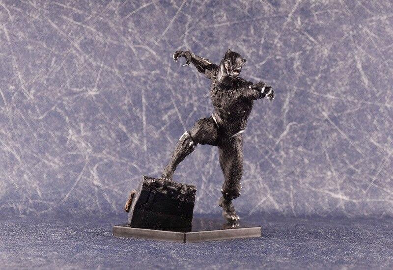 Iron Studios Marvel Black Panther Action Figures GK Avengers 1/10 Model Toys 18cm