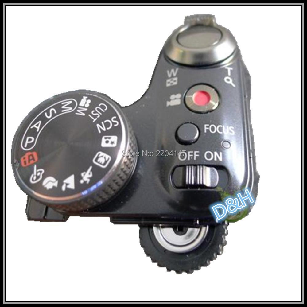 NEW Original For Panasonic FZ47 FZ48 FZ40 FZ45 The Top Shutter Button Power Switch Camera Replacement Unit Repair Part