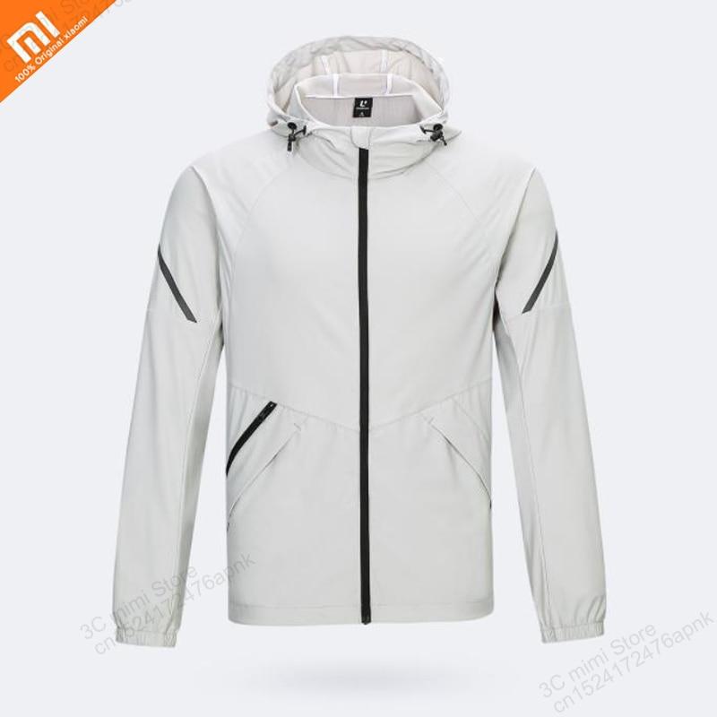 Original xiaomi mijia uleemark, chaqueta deportiva ligera elástica para hombre, Reflectante decorativo sedoso, chaqueta deportiva para hombre, casa inteligente