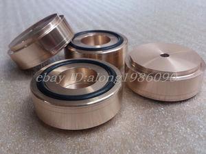 Hifi store NEW 4pcs aluminum machine feet --GOLD Diameter: 44mm, high: 17mm model C