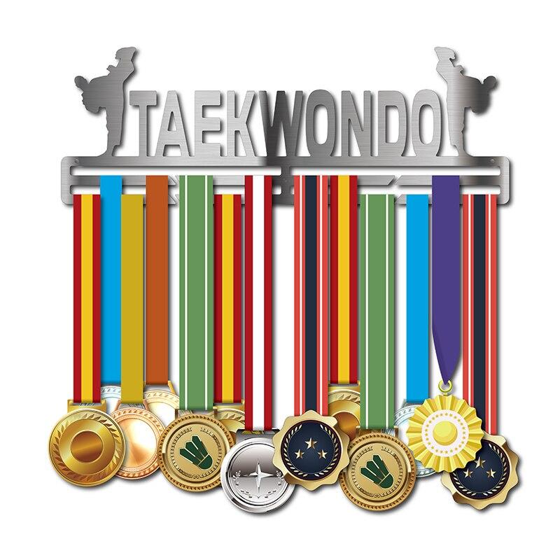 DDJOPH, colgador de medallas de Taekwondo, soporte para medallas deportivas, soporte para medallas, 32 + medallas