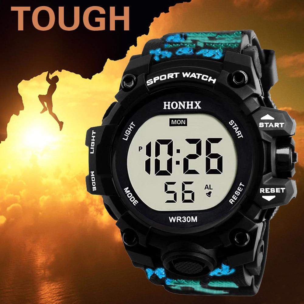 Luxus Marke Herren Sport Uhren Dive 30m Uhr Männer Digitale LED Military Fashion Casual Elektronik Armbanduhren Hot Clock A40