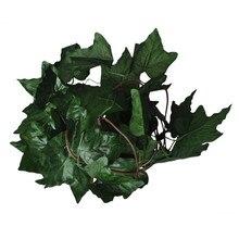 Guirlande de feuilles de lierre artificielles   Fausses fleurs de vigne, feuilles de raisin décoratives pour la maison, 6,56ft