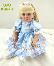 Dernière nouvelle 50 cm Silicone Reborn Boneca Realista mode bébé poupées pour princesse enfants cadeau danniversaire Bebes Reborn poupées dollma