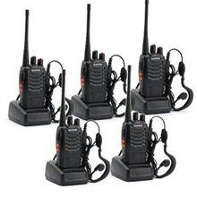 5 Pak BaoFeng BF-888S Lange Range UHF 400-470 MHz 5 W CTCSS DCS Draagbare Handheld
