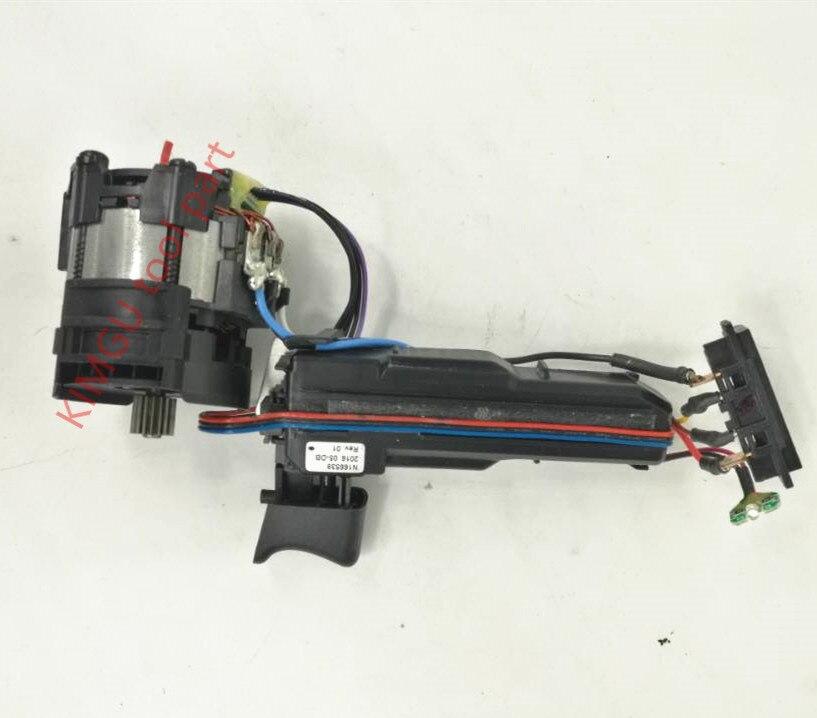 Motor y interruptor 18V N389442 para dewalt DCD995 DCD990
