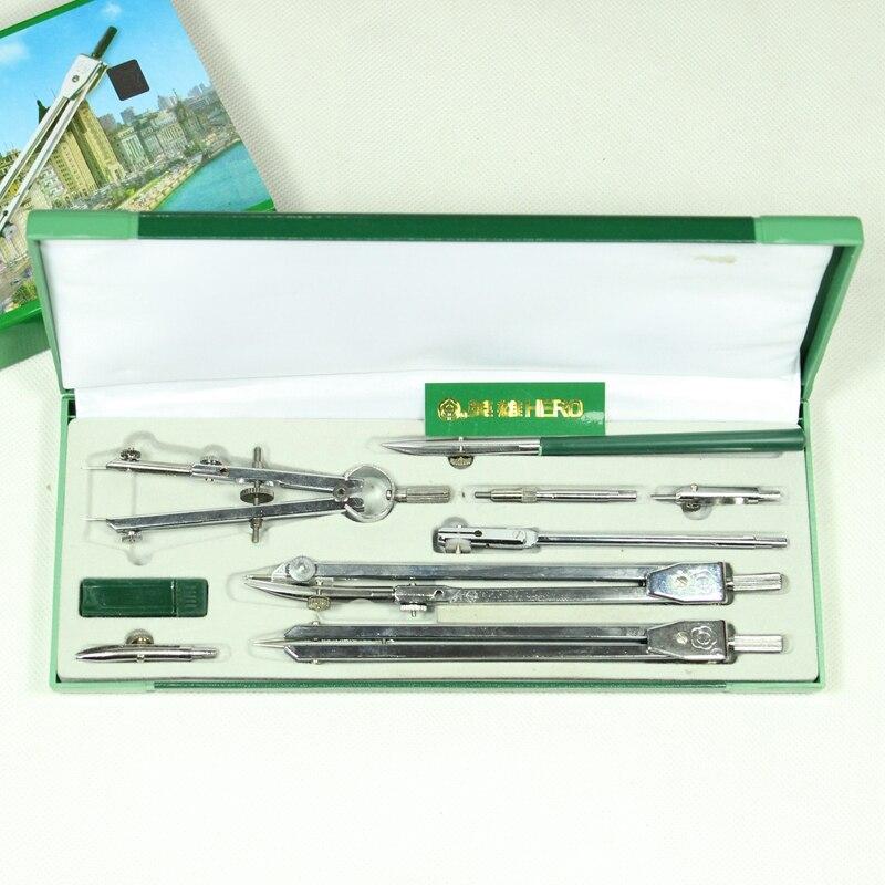 HERO compases de dibujo H4009, arquitectura mecánica, ingeniería, especialidad, juego de herramientas de compases de dibujo