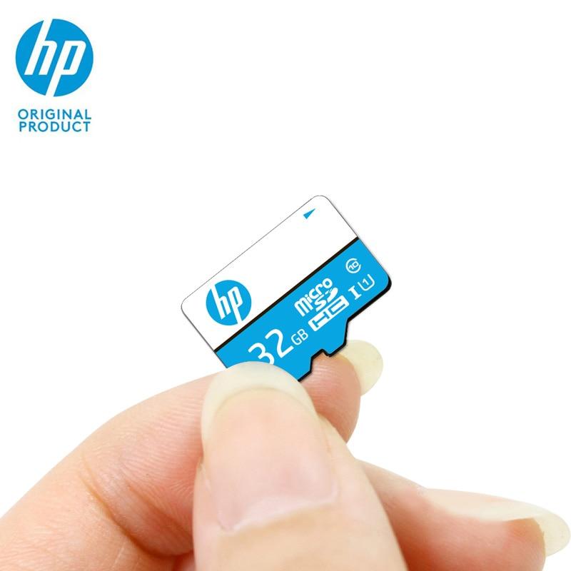 Hp Mini sd карта 32 Гб карта памяти Micro SD SDHC Cartao de Memoria microSD КЛАСС 10 U1 Оригинал tarjeta UHS-I телефон Full HD TF