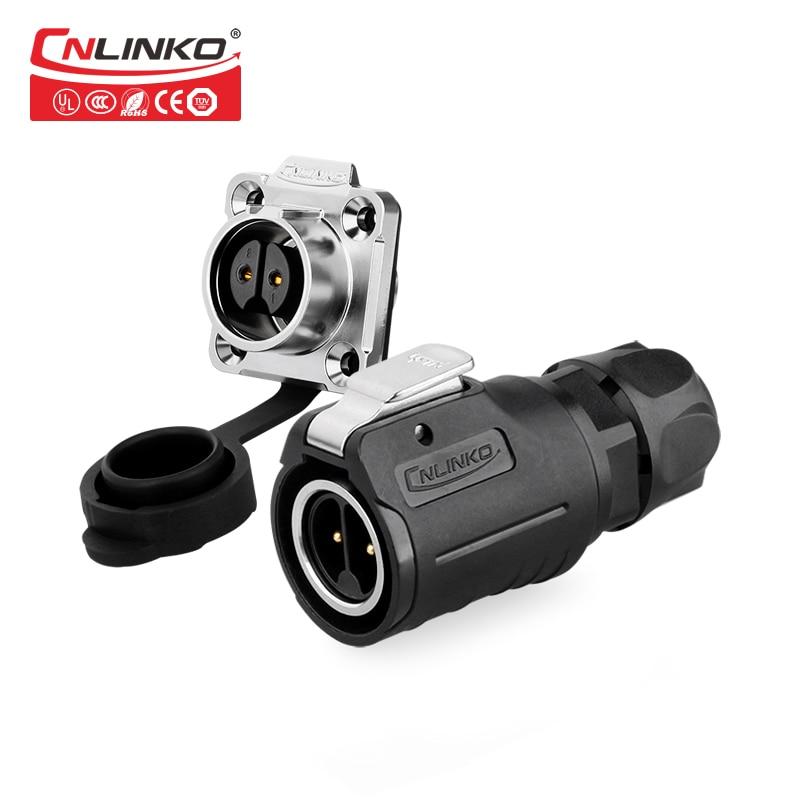 Cnlinko M16 2 3 4 5 7 8 9Pin водонепроницаемый кабельный разъем розетка DC AC разъем сигнала питания Электрический промышленный светодиодный панель outdoor...