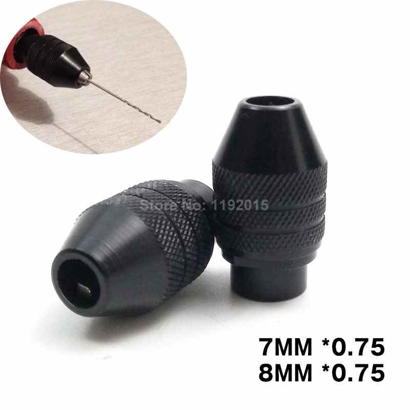 1 portabrocas sin llave para herramientas giratorias dremel accesorios dremel Mini adaptador de mandriles de taladro de 0,5-3,2mm para eje de perforación Flexible