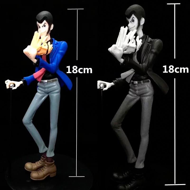 Gran oferta estatua clásica de Anime cómic Lupin III Rupan Sansei máscara para quitar figura figurita Juguetes