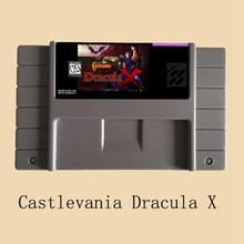 Castlevania Dracula X 16 Bit Big Gray Game Card For NTSC Game Player