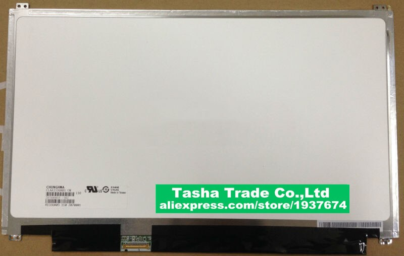 CLAA133UA03 CW شاشة كمبيوتر محمول LCD 1600*900 30 دبوس شاشة LED نوعية جيدة