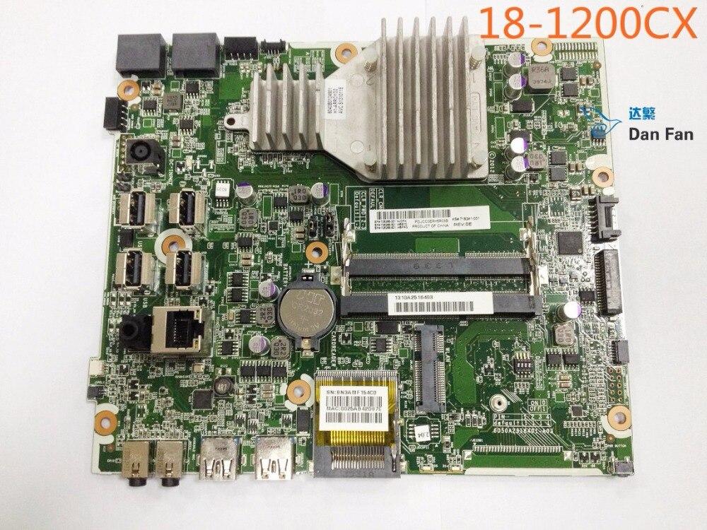 716241-001 ل HP 18-1200CX AIO اللوحة 728286-001 اللوحة 100% اختبار العمل بالكامل