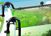 Zewnętrzny filtr kanistrowy do akwarium wlot rura wylotowa filtry akwariowe akcesoria wyjście rura wejściowa rura pasuje do 16mm
