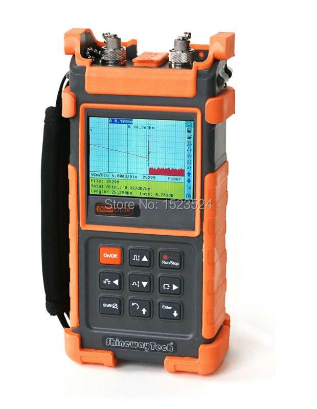 Reflectómetro de fibra óptica OTDR ShinewayTech S20B/E 35/34dB SM 1310/1550nm