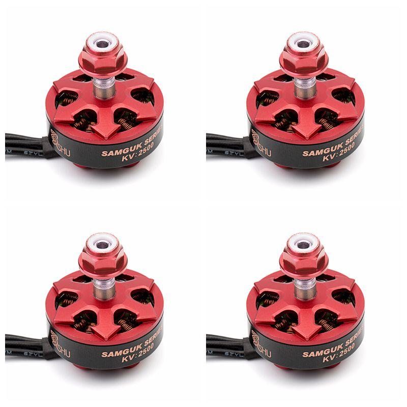DYS Samguk серия Shu 2306 2500KV 2800KV 3-6S бесщеточный мотор для радиоуправляемых моделей, Мультикоптер, запасные части Accs