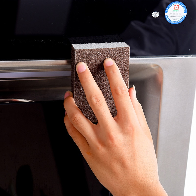 1Pcs Nano Emery Sponges For Office Bathroom Magic Sponge Eraser Cotton Rust Remover Kitchen Cleaning Tools Dish Washing Brush 25