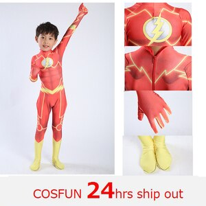 Man Magical Fancy Flash Man cosplay costume zentai suit Lycra Spandex jumpsuit body suit for Halloween costumes free shipping