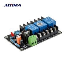 Защитная плата для динамиков AIYIMA UPC1237 2,1, комплект деталей, надежная работа, три канала для Hi-Fi усилителя, сделай сам