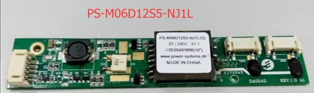 Inversor PS-M06D12S5-Nj1L (S) DA0242 alta presión MP277 pantalla táctil alta presión
