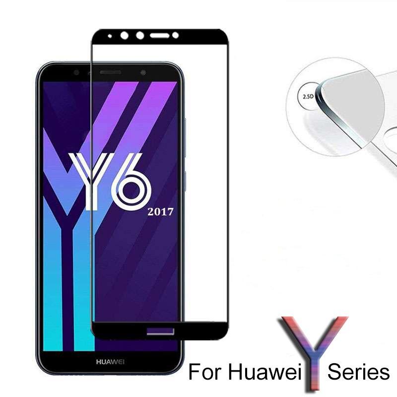 Для Huawei Y6 Prime 2018 закаленное стекло для Huawei Y3 Y5 Y7 Prime Y9 2017 2018 защита экрана на huawey Y 3 5 6 7 9 Y6Prime 6Y