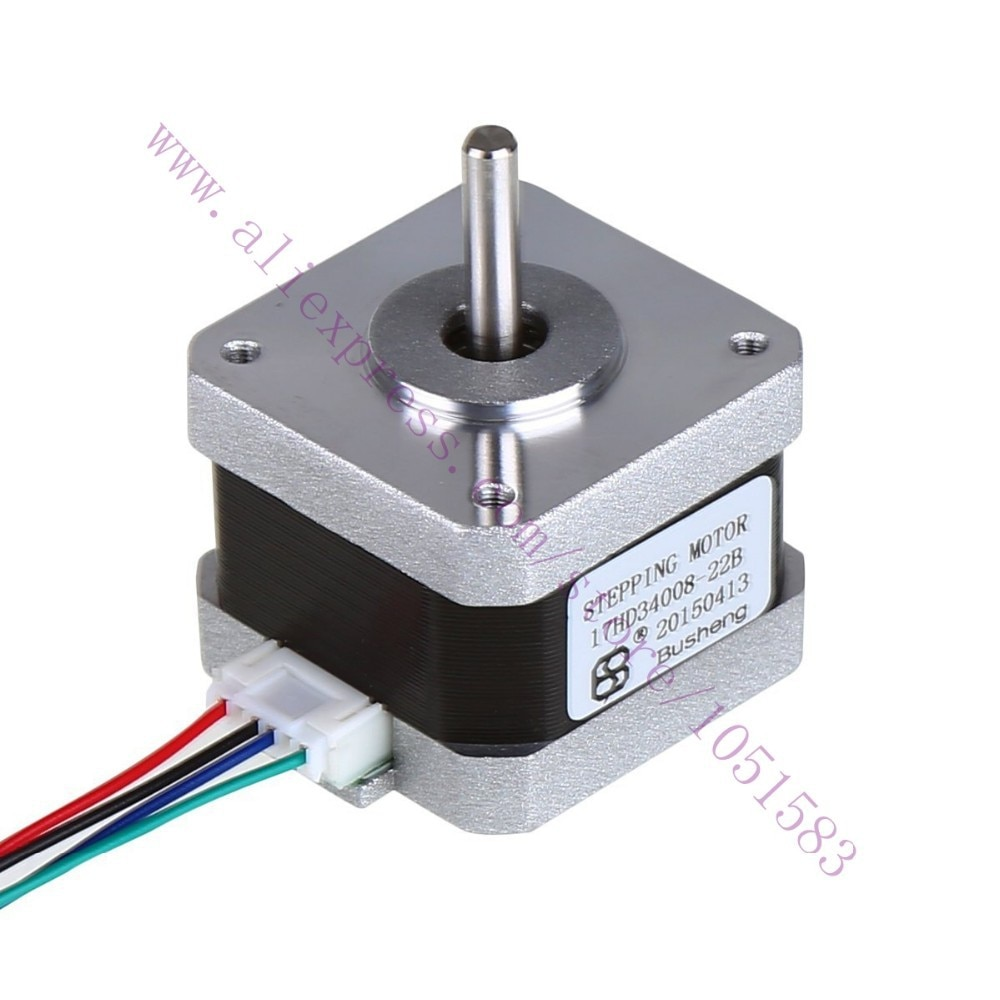 3d printer parts 2phase hybrid Nema17 stepper motors 17HD34008-22B 0.8A 38g.cm2 Lenth 34mm