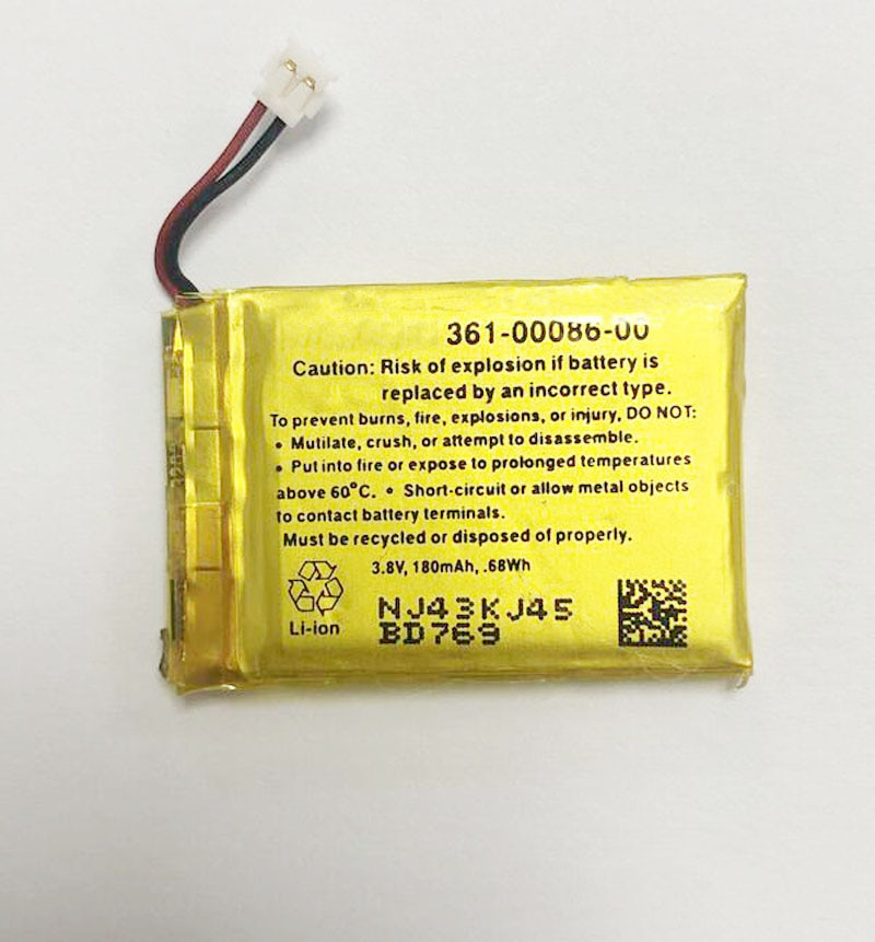 GeLar, 3,8 V, 180mAh, pilas para reloj inteligente, 361-00086-00 para GARMIN Forerunner 220 225 230 235 620 735XT