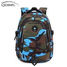 Top Brand Orthopedic Camouflage Children School Bags Backpack Mochila For Teenagers Kids Boys Girls Laptop Bag Knapsack Satchel