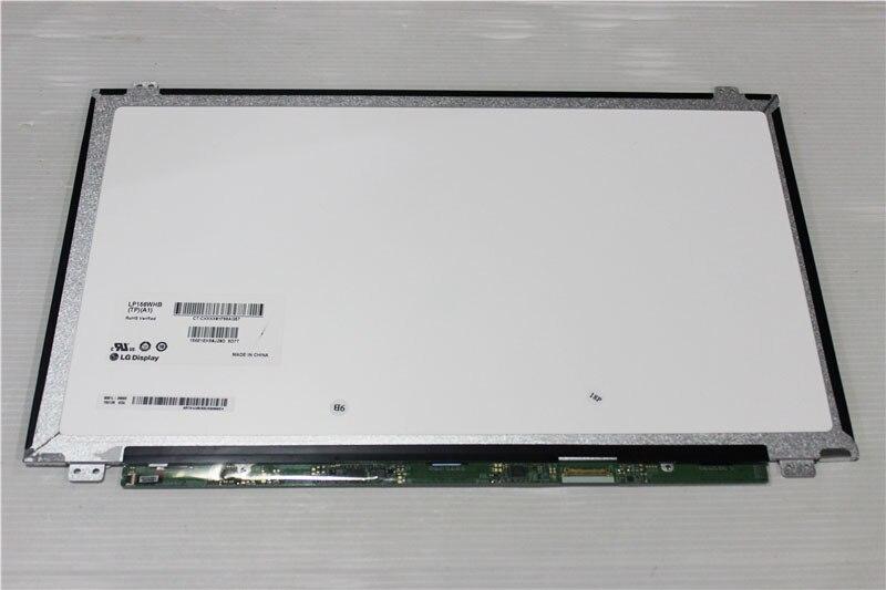 "Tela led LP156WHB-TPA2 lp156whb tpa2 matriz, para laptop 15.6 ""1366x768 30pin lp156whb (tp) (a2) tela de lcd brilhante substituição"