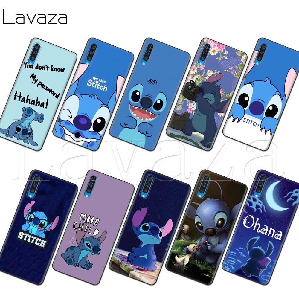 Lavaza we love stitch Soft Case for Samsung Note A3 A5 A6 A7 A8 A9  A10s A20s A30s A40s A50s 10 A70 8 9 J6 Plus