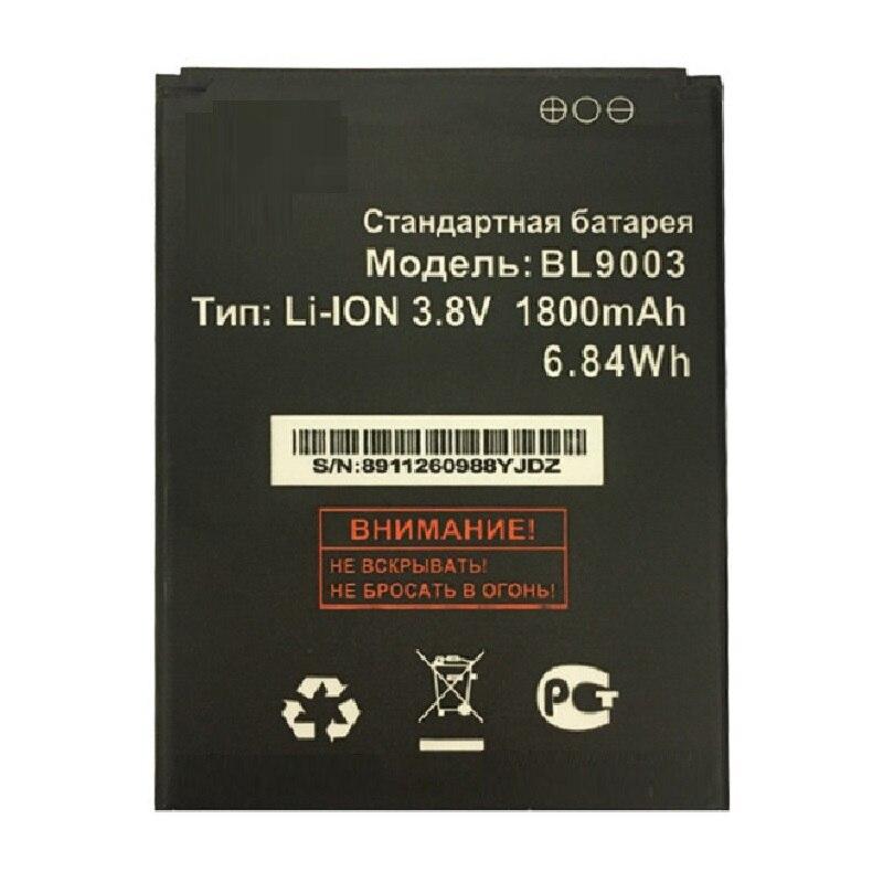 BL9003 BL 9003 para fly FS452 FS 452 Nimbus 2 Acumulador de batería de teléfono 3,8 V 1800 mAh piezas de baterías de repuesto