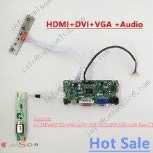 Kits complets de carte contrôleur LCD adaptés à B154EW02 V0 HW1A/N154I1-L03/N154I1-L06 Rev. C1 prise en charge HDMI/DVI/VGA/AUDIO