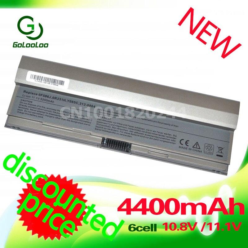 Golooloo batería para dell latitud E4200 00009, 312-0864, 451-10644 F586J 453-10069 R331H R640C R841C W343C W346C X784C Y082C