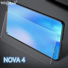 2PCS Screen Protector Huawei Nova 4 Glass Ultra Thin 9H Hardness Tempered Glass For Huawei Nova 4 Ph