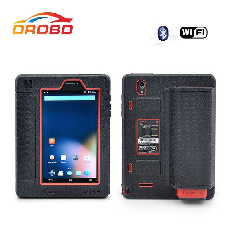 Original LAUNCH Tablet herramienta de diagnóstico X431 V X-431 WiFi/Bluetooth escáner de diagnóstico misma función X431 Pro herramienta de diagnóstico