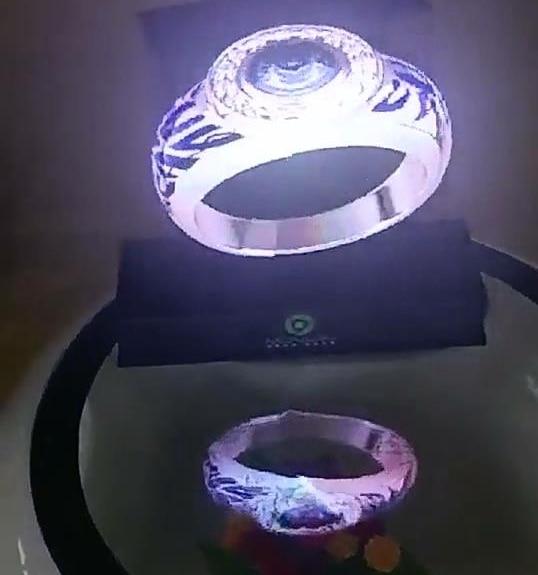 Xintai عرض الإعلانات المجسمة LED مروحة التصوير المجسم 3D العين المجردة LED مروحة ضوء LED تتحرك رئيس ضوء عطلة