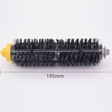 1 kit De cerdas IROBOT flexible shock cepillo Roomba 600/700 series 620, 630, 645, 760, 770, 780, 790 cepillo para la limpieza de cepillos