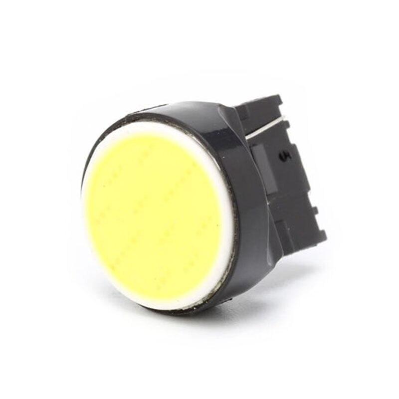 T20 7440/7443 cob 12smd carro led invertendo luz girando lâmpada de sinal