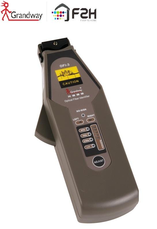 [ Grandway Original ] OFI-3 Optical Fiber Identifier / Live Fiber Identifier /   Fiber Optic Ray Recognizing 900~1650nm