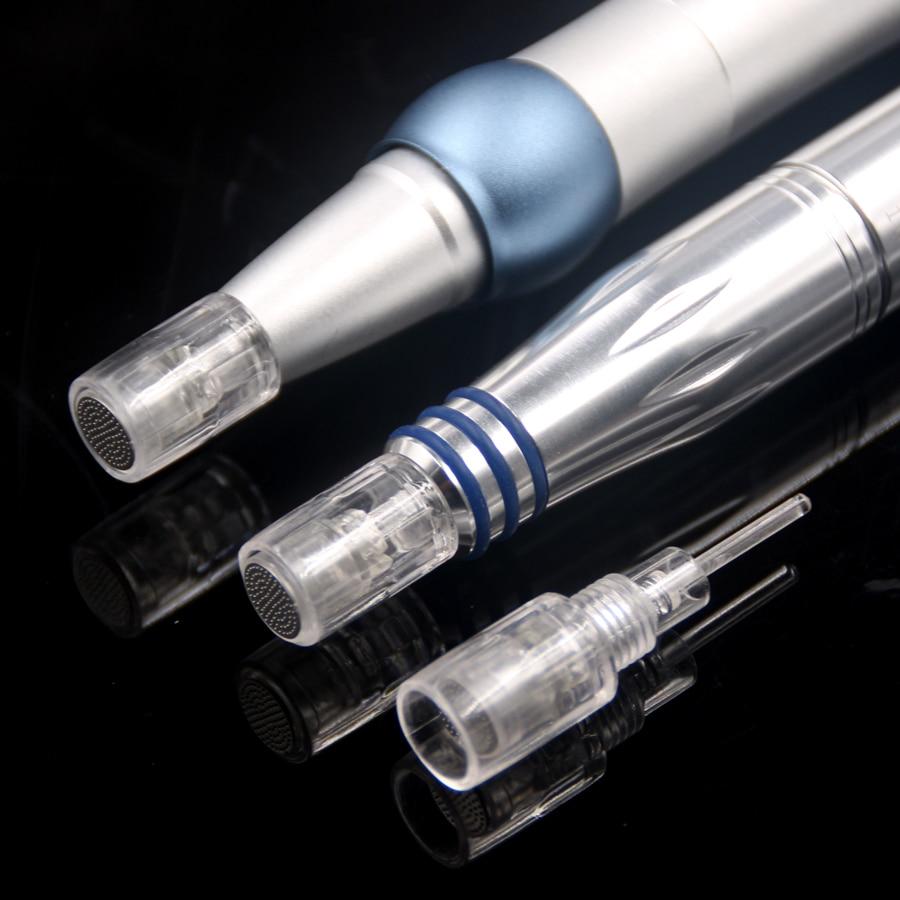 20 Pcs Round Nano Pin Needle Cartridge Bayonet Port for Electric Auto Microneedle Derma Pen/liberty machine/charmant machine