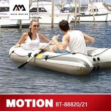 AQUA MARINA MOTION nouveau Kayak de sport bateau gonflable pêche bateaux gonflables 2 personnes avec pagaie bateau en PVC épais avec pagaie