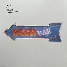 Accessoires de décoration de club en forme de flèche   Signe vintage flèche, signet irrégulier, accessoires de décoration de club