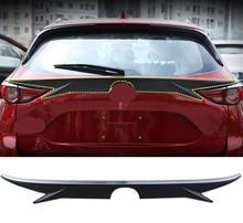 Garniture de lèvre daile du coffre   Pour Mazda 2017-2018 Topline modèle queue arrière, Spoiler daile