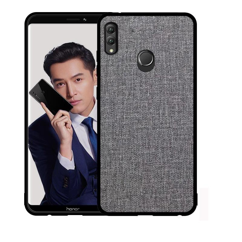 Para Huawei Honor 8X Max funda para Huawei Honor 8X funda de silicona original para Huawei Honor 8X Max 8c funda de tela