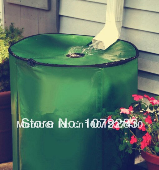 100L (D40*H80cm) outdoor buckets folding RAIN BARREL in garden rain harvesting tool