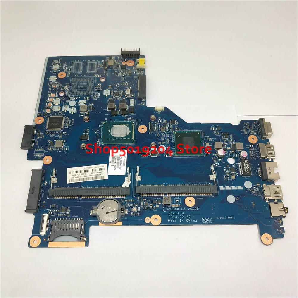 اللوحة LA-A999P 761538-501 ل HP 15-R 15R 250 G3 250-G3 اللوحة المحمول SR0N9 i3-3217U 761538-601 761538-001 ZS050 Z