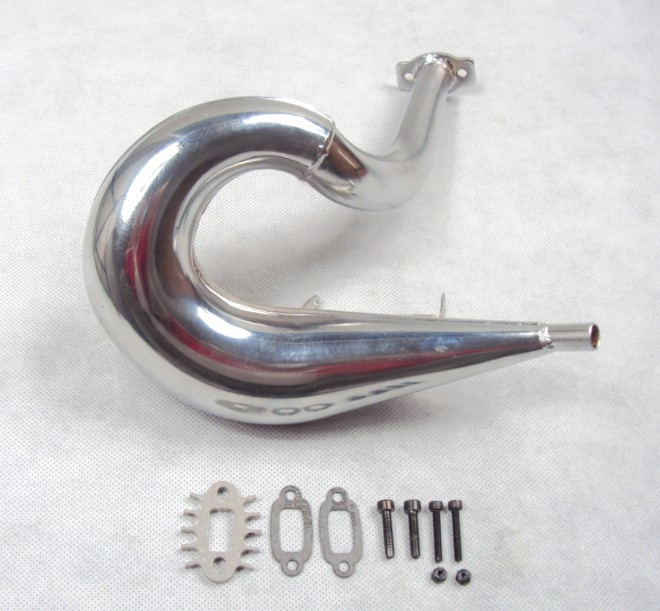 Impulso de potência tubo de escape forçado ressonância tubo de escape para rovan km hpi baja 5b 5 t 5sc
