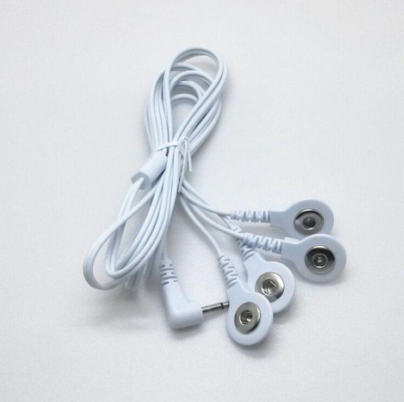 20 Uds. unids/lote DC 2,5 MM 4 en 1 cabeza cables de...