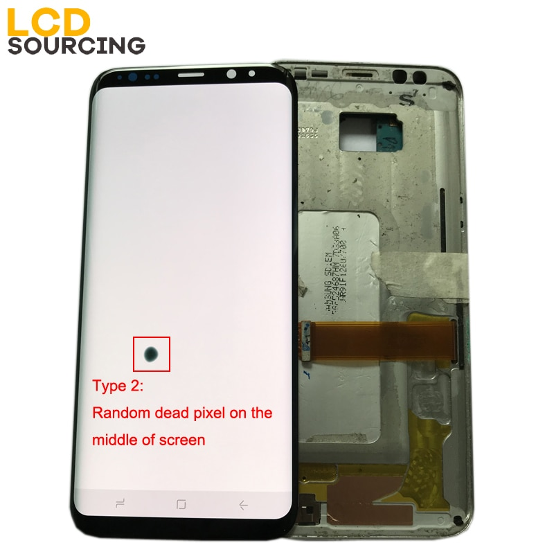 AMOLED LCD with Random Dead Pixel for Samsung Galaxy S8 G950/G950F S8 Plus G955/G955F Display LCD Touch Screen Digitizer enlarge